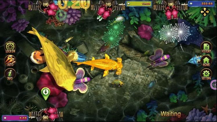 รีวิวเกม GOLDEN TOAD FISH HUNTING